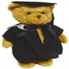 Graduation Bear 36cm 'John'  - Fully Jointed
