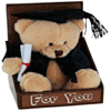 Graduation Bear in Box 'For You' 16cm - Bulk Discounts
