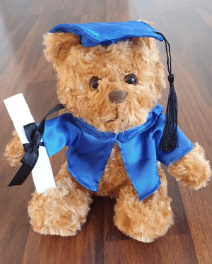 Best Seller - Blue Graduation Outfit 20cm - Bulk Discounts