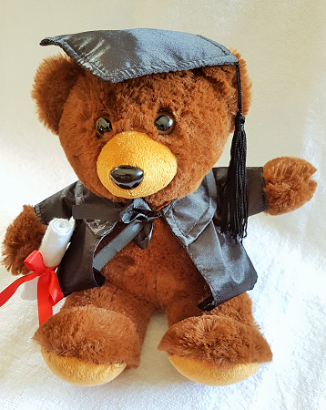 Graduation Bear 20cm 'Ella' - Clearance Item