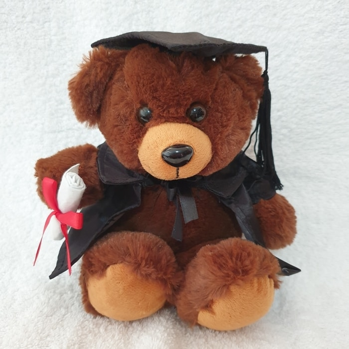 Graduation Bear 20cm 'Ella' - Clearance Item - only 2 left