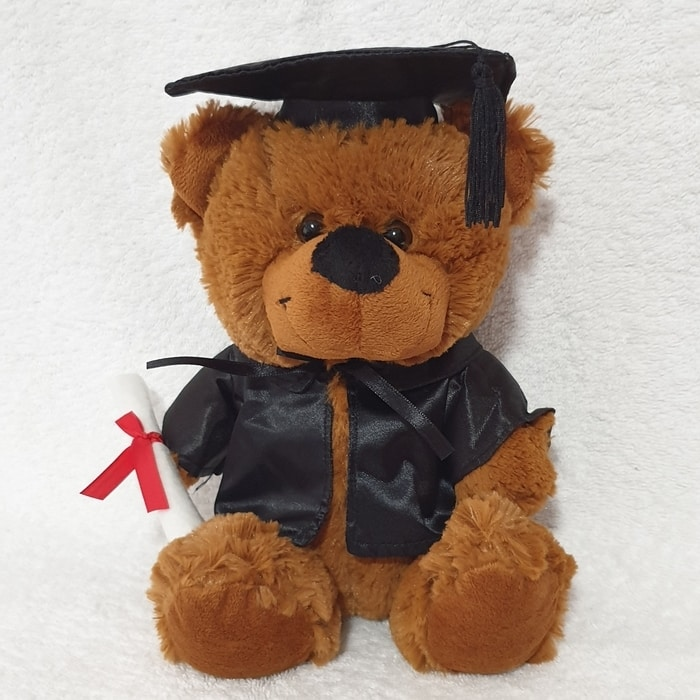 Graduation Bear 23cm Large Cap 'Bear Jelly' - Sold Out
