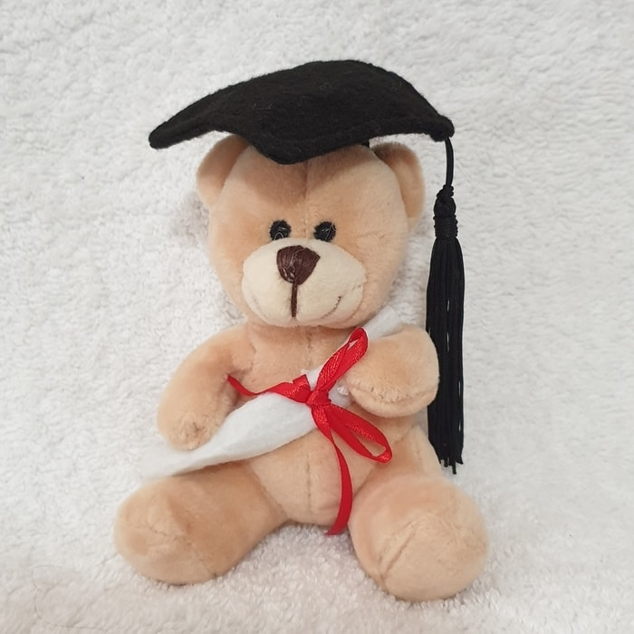 Graduation Bear 10cm 'Tiny' - Clearance Item - 1 only