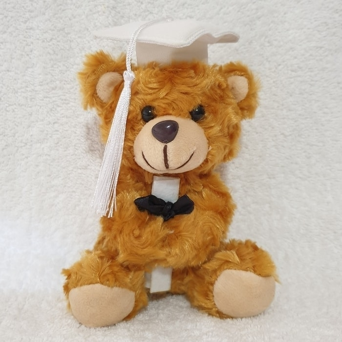 Baby Preschooler - White Graduation Cap 15cm - Click for Bulk Prices