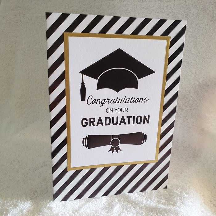Graduation Card - Congratulations on Your Graduation
