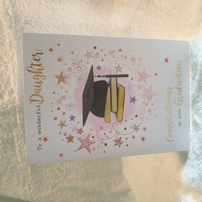 Graduation Card - To a Wonderful Daughter