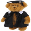 Graduation Bear 30cm 'William' - Fully Jointed