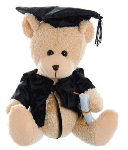Graduation Bear 25cm 'Biggest Brother' - Clearance Item
