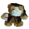 Graduation Cat 24cm \'Zachariah\'