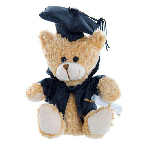 Graduation Bear 15cm 'Baby Brother' - Clearance Item