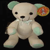 Message Bear 46cm - Green