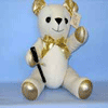 Signature Bear Gold 35cm