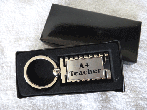 Teacher A+ Keyring
